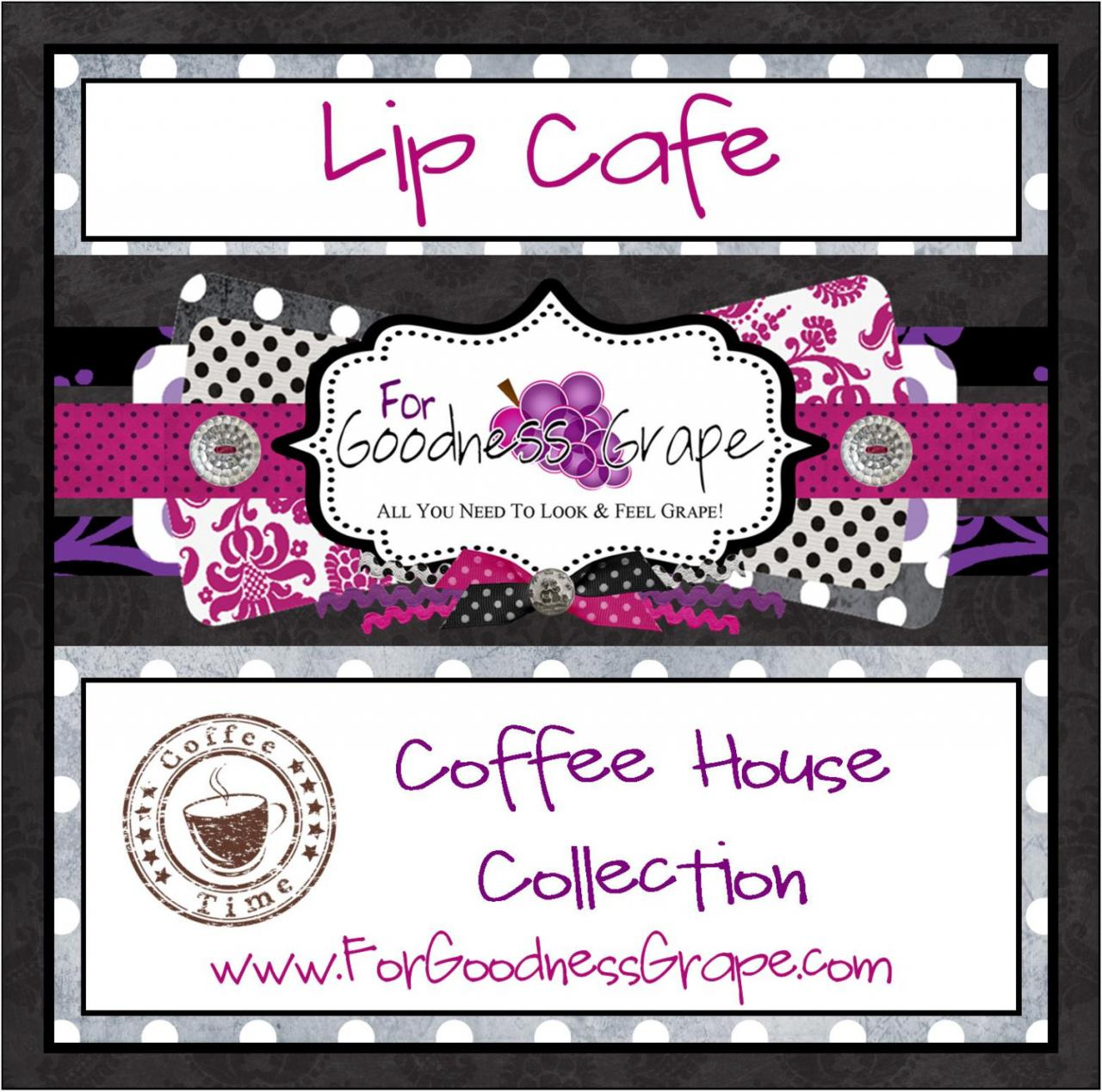Lip Cafe Coffee House Collection Lip Balm in a Handy Tin - Your Choice of any 5 Coffee Inspired Lip Balms in this Listing